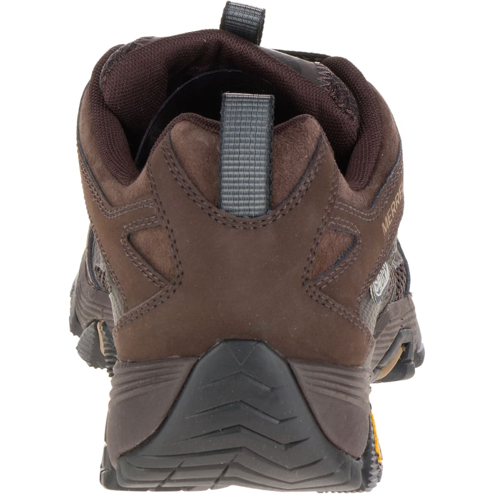 MERRELL Men's Moab FST Waterproof Wide Sneaker, Brown - BROWN