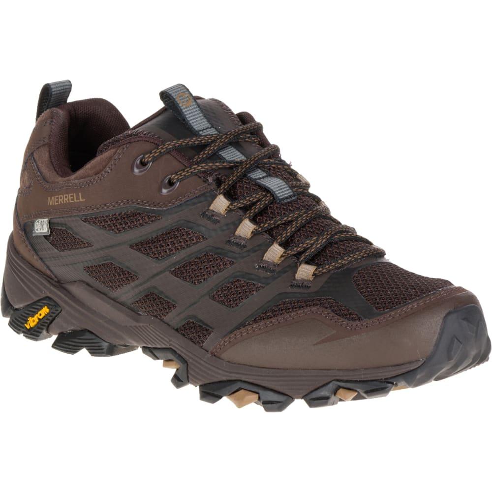 MERRELL Men's Moab FST Waterproof Wide Sneaker, Brown - BROWN
