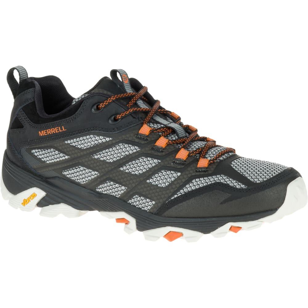 MERRELL Men's Moab FST Wide Sneaker, Black - BLACK