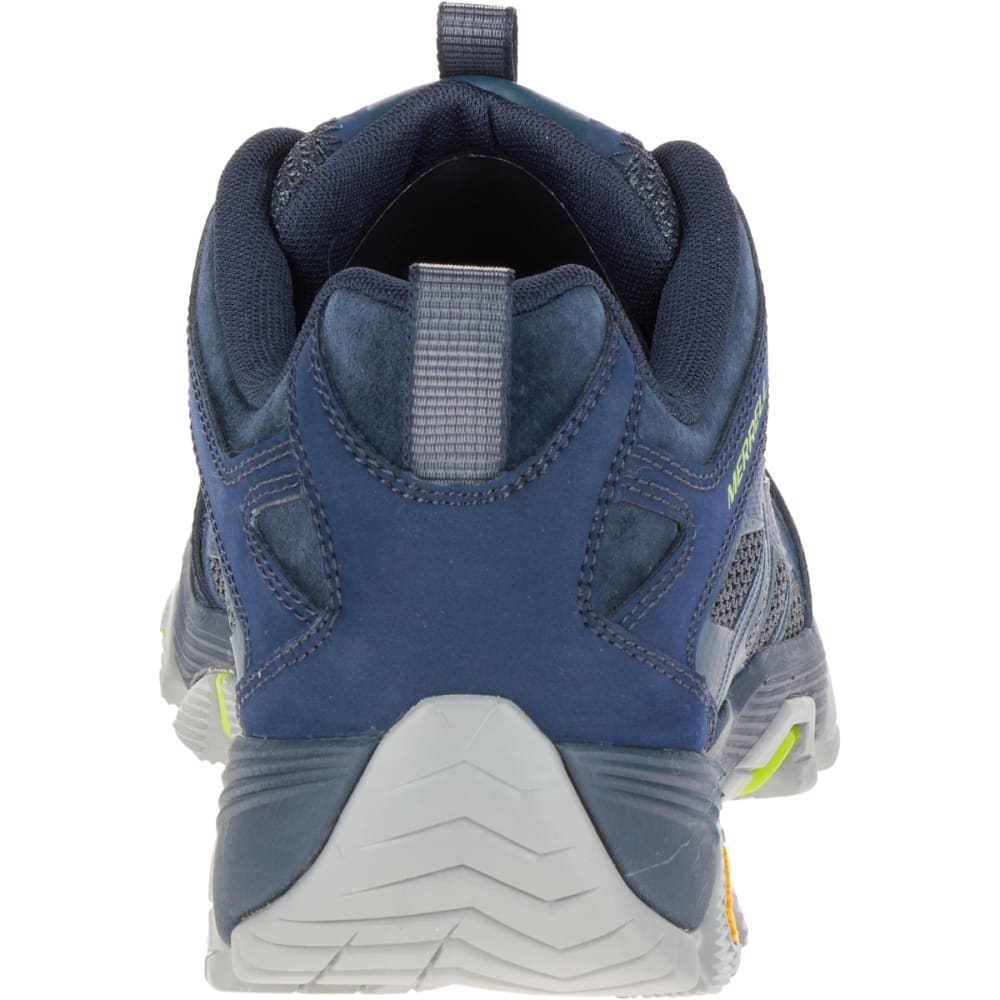 MERRELL Men's Moab FST Wide Sneaker, Navy - NAVY