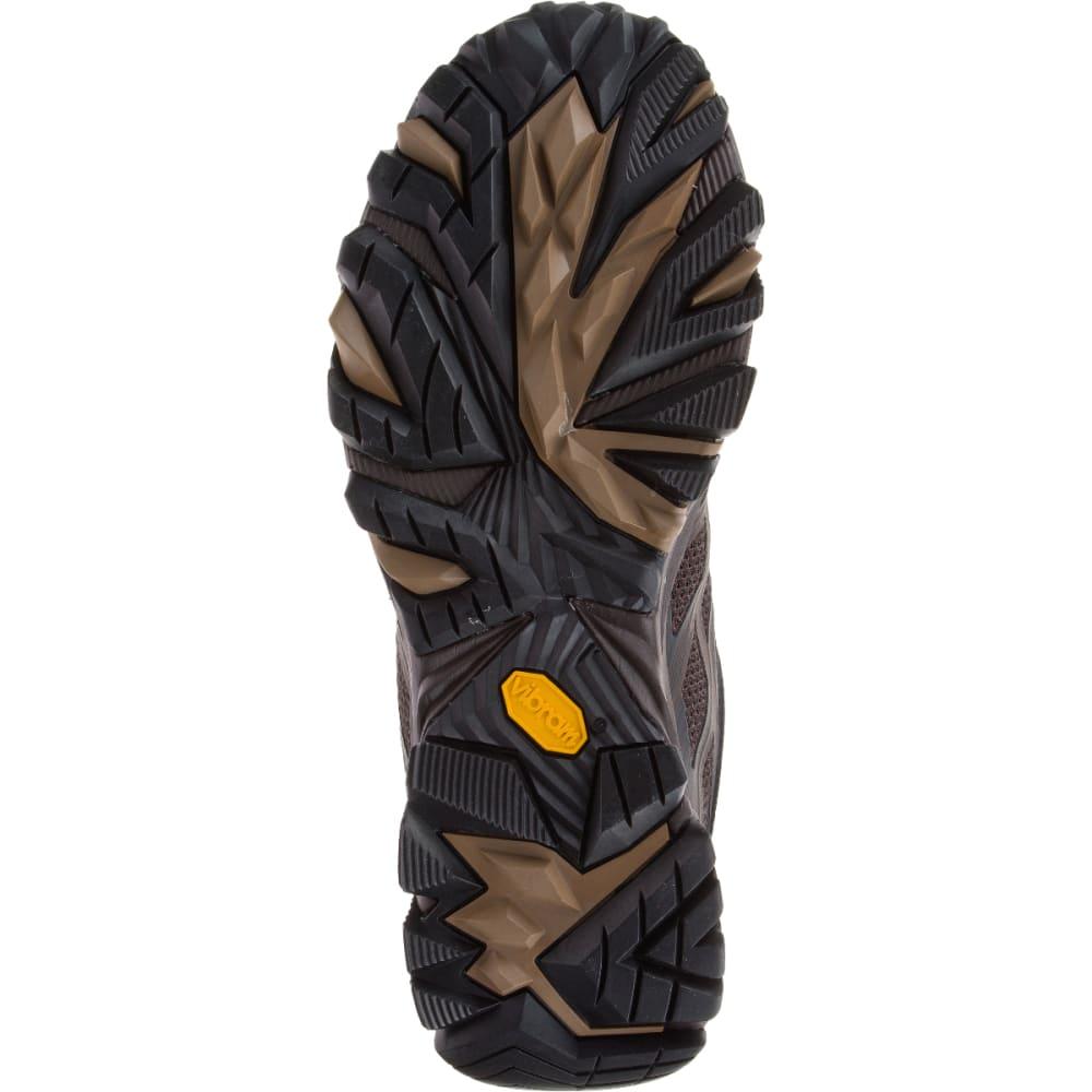 MERRELL Men's Moab FST Wide Sneaker, Brown - BROWN