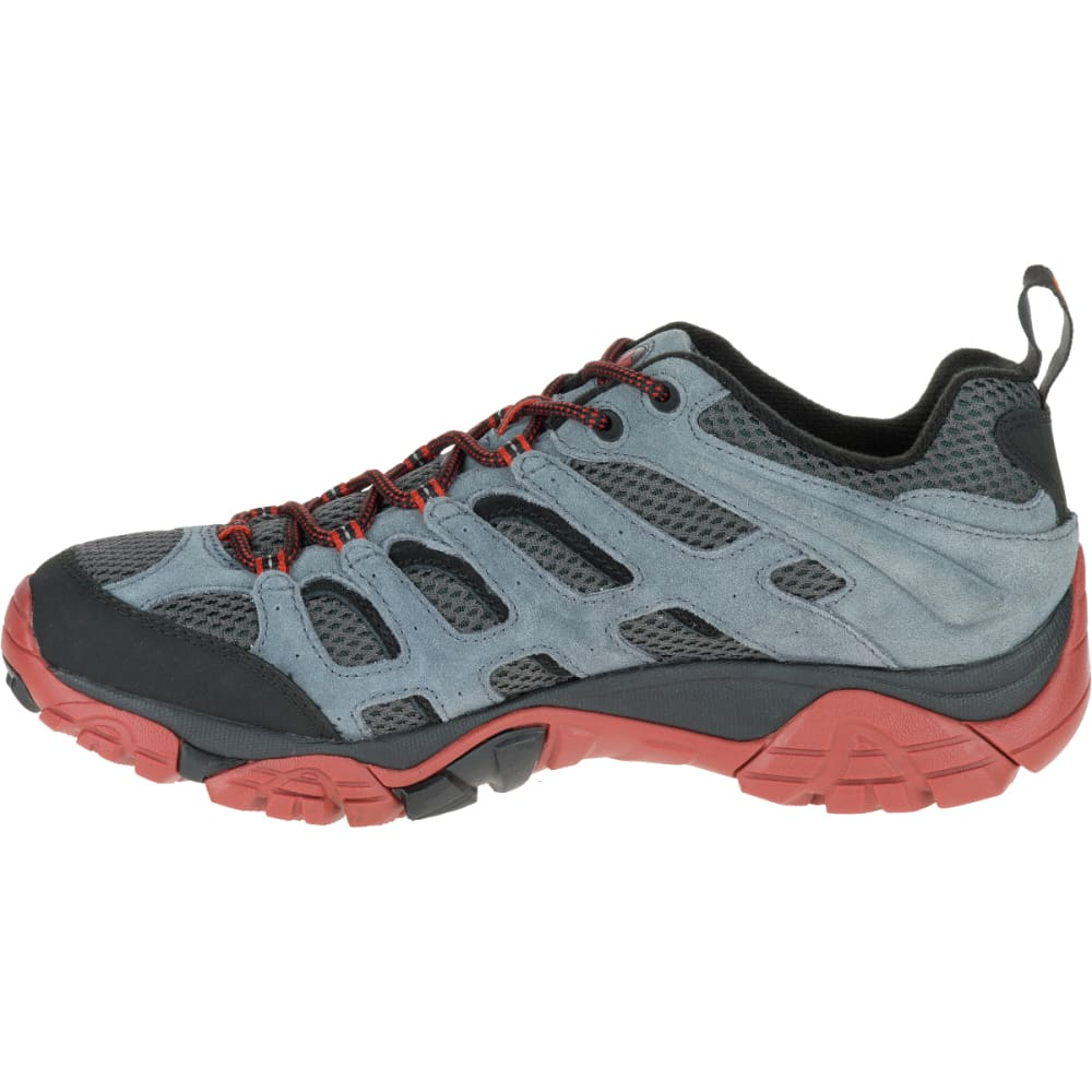 MERRELL Men's Moab Ventilator Hiking Shoe, Castle Rock/Black - CASTLEROCK/BLACK