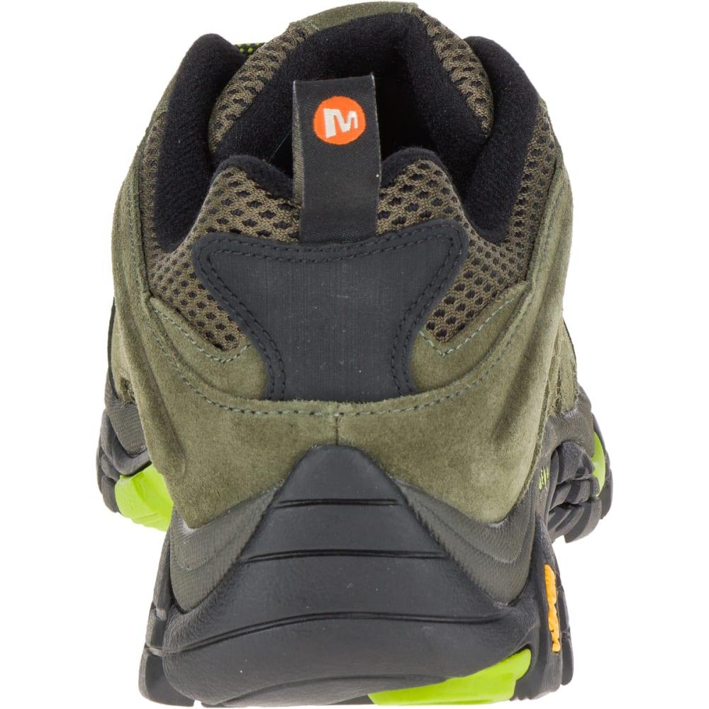 MERRELL Men's Moab Ventilator Hiking Shoe, Dusty Olive/Black - DUSTY OLIVE/BLACK
