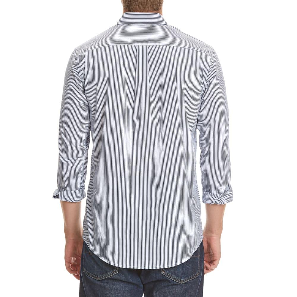 DOCKERS Men's Comfort Striped Woven Shirt - 8427-MEDIEVAL BLUE