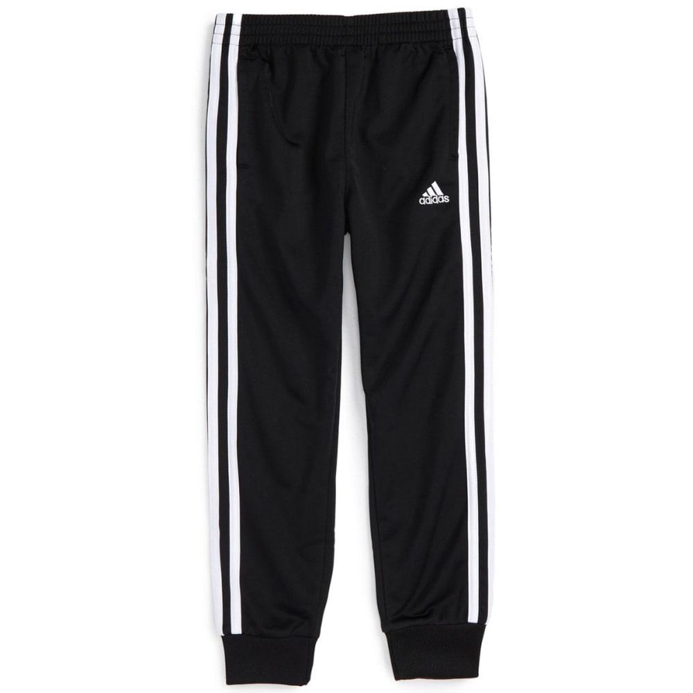 ADIDAS Boys' Tricot Jogger Pants - BLACK/WHITE K01