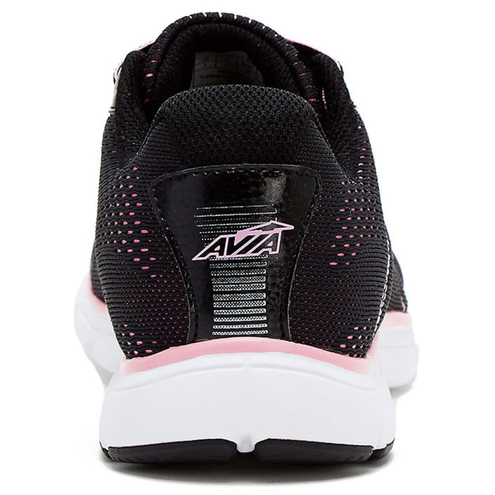 AVIA Women's AVI-Rove Sneakers, Wide - BLACK/PINK