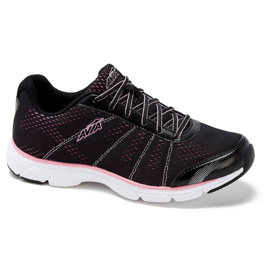 AVIA Women's AVI-Rove Sneakers, Wide - BLACK/PINK
