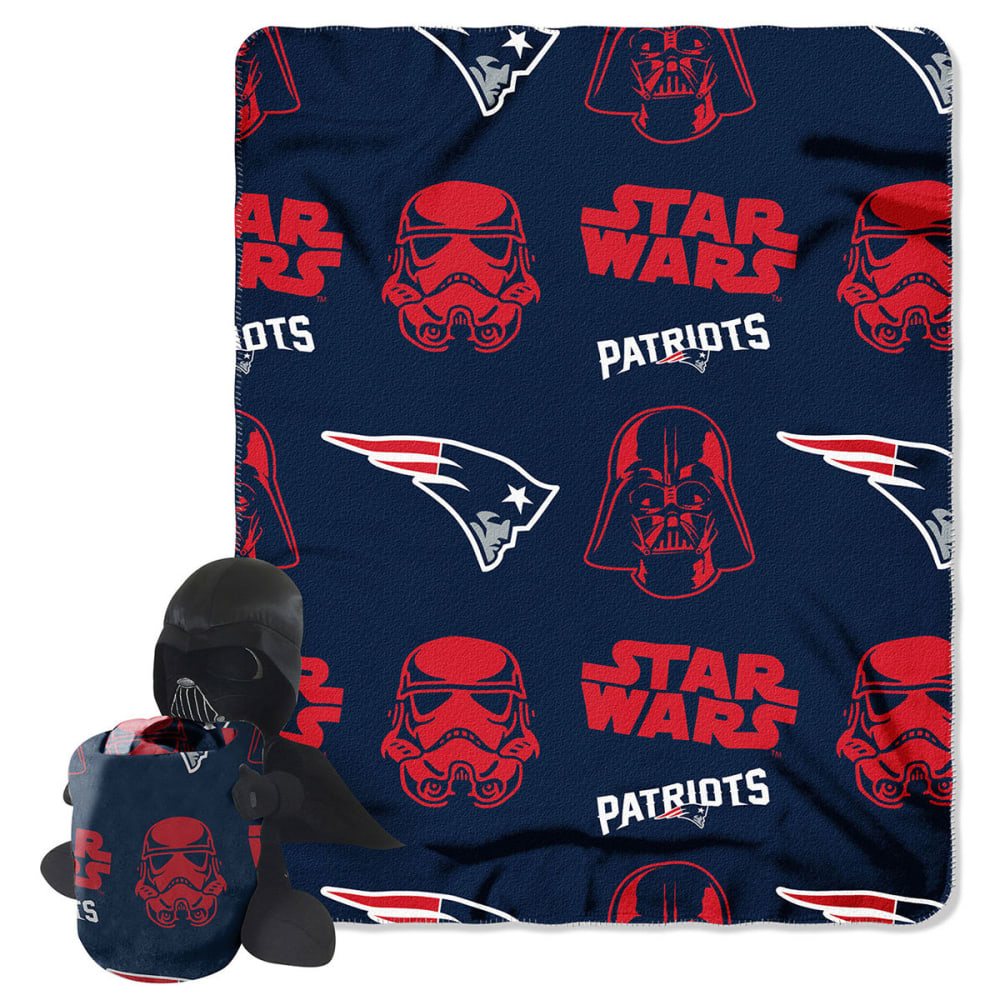 NEW ENGLAND PATRIOTS Darth Vader Blanket Set - ASSORTED