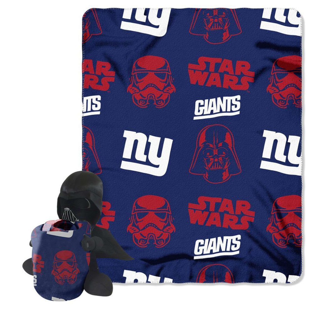 NEW YORK GIANTS Darth Vader Blanket Set - ASSORTED