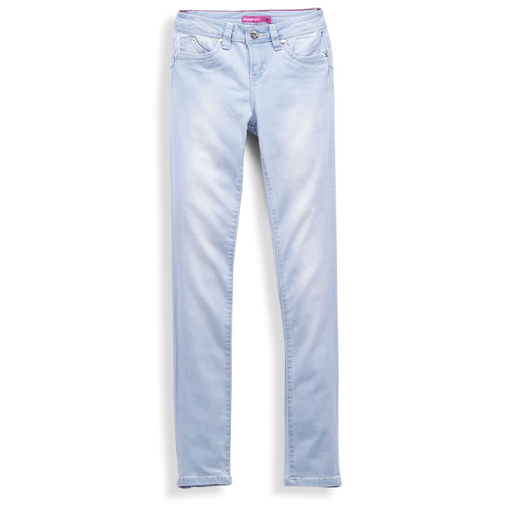 YMI Girls' Wanna Betta Fit Skinny Jeans - LIGHT WASH