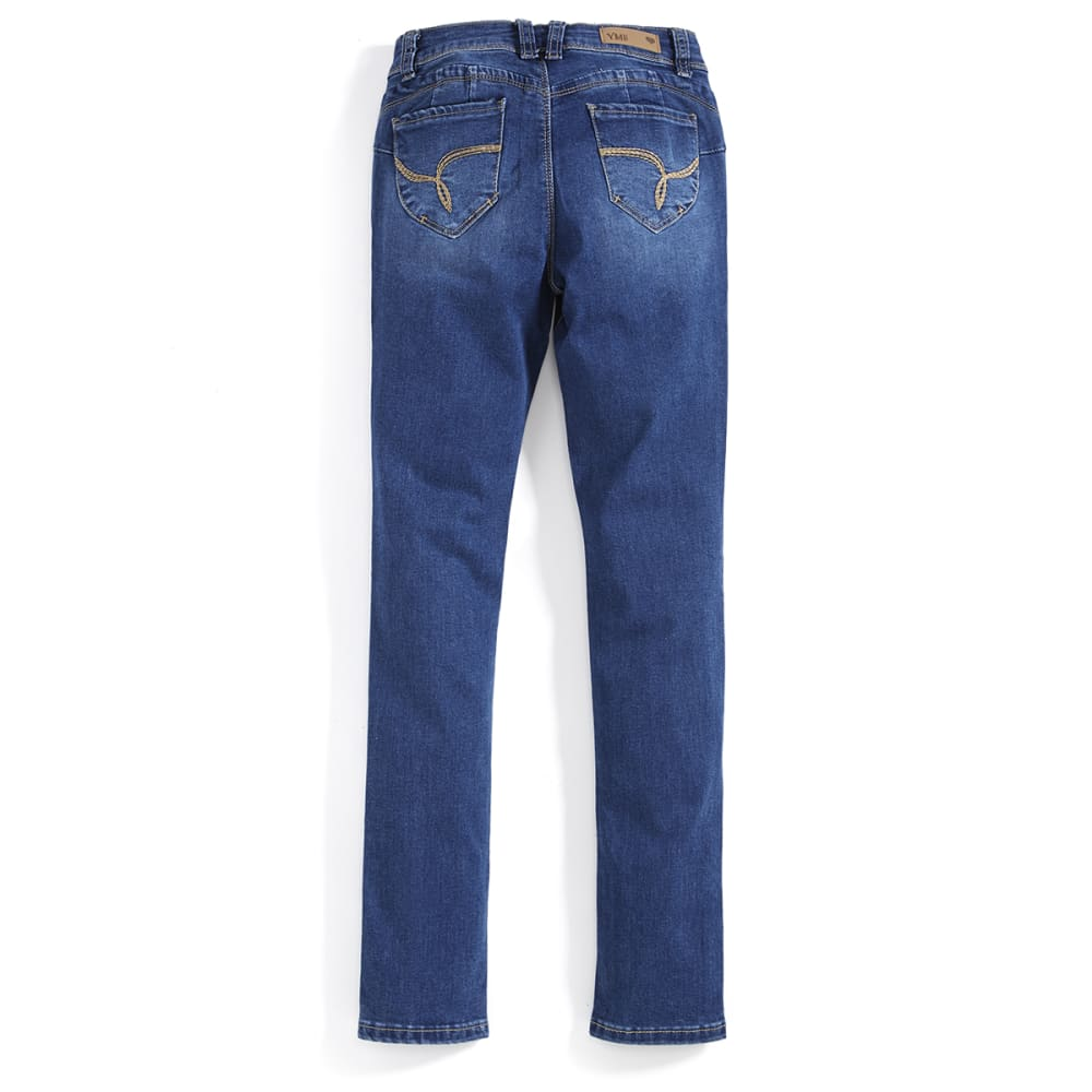 YMI Girls' Wanna Betta Fit Skinny Jeans - MEDIUM WASH