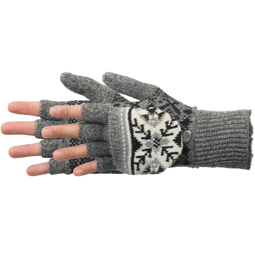 MANZELLA Women's Snow Star Convertible Gloves - OXFORDHTRGREY