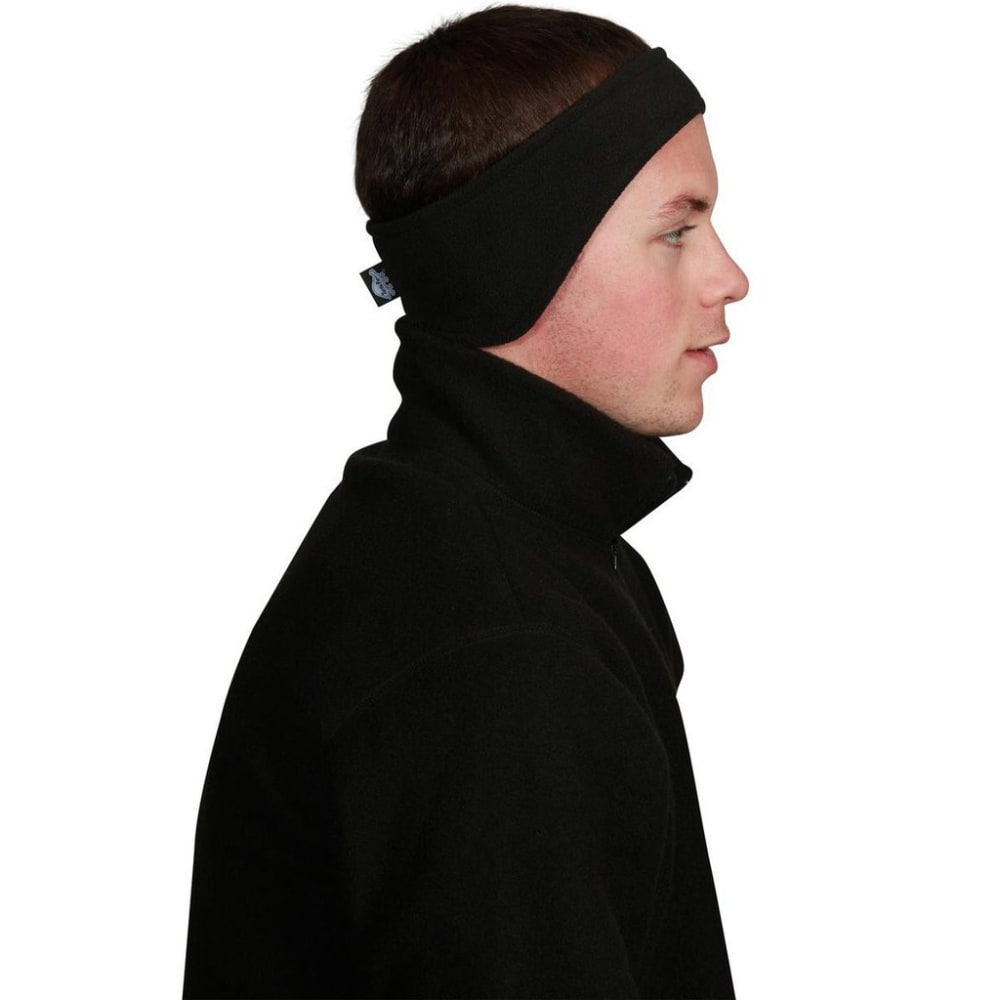 TURTLE FUR Unisex Chelonia 150 Fleece Bang Headband - BLACK-101