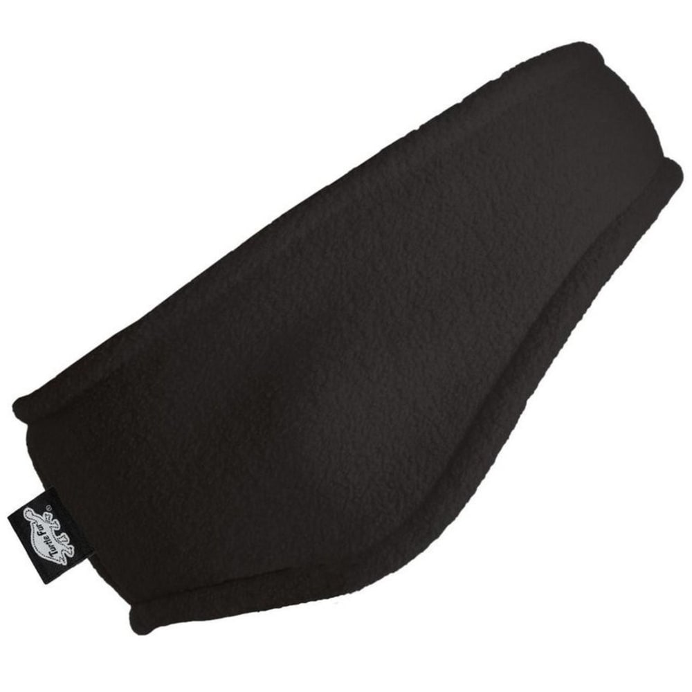 TURTLE FUR Unisex Chelonia 150 Fleece Bang Headband - BLACK-101