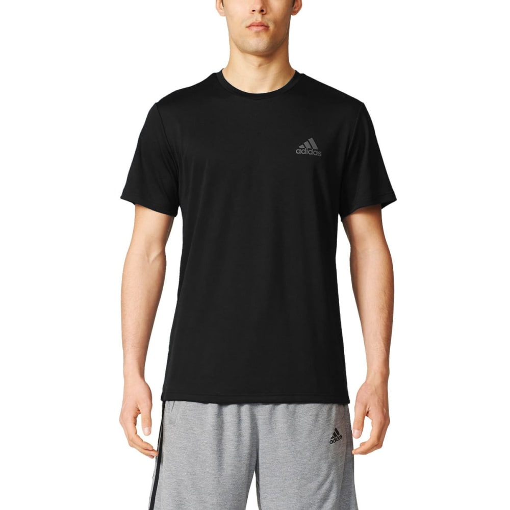 ADIDAS Men's Essentials Tech Tee - BLACK-AZ2015