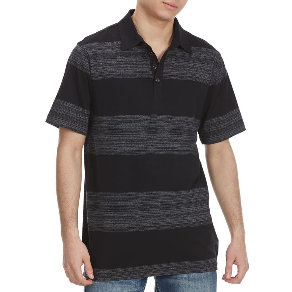 OCEAN CURRENT Guys' Element Short-Sleeve Polo Shirt - BLACK