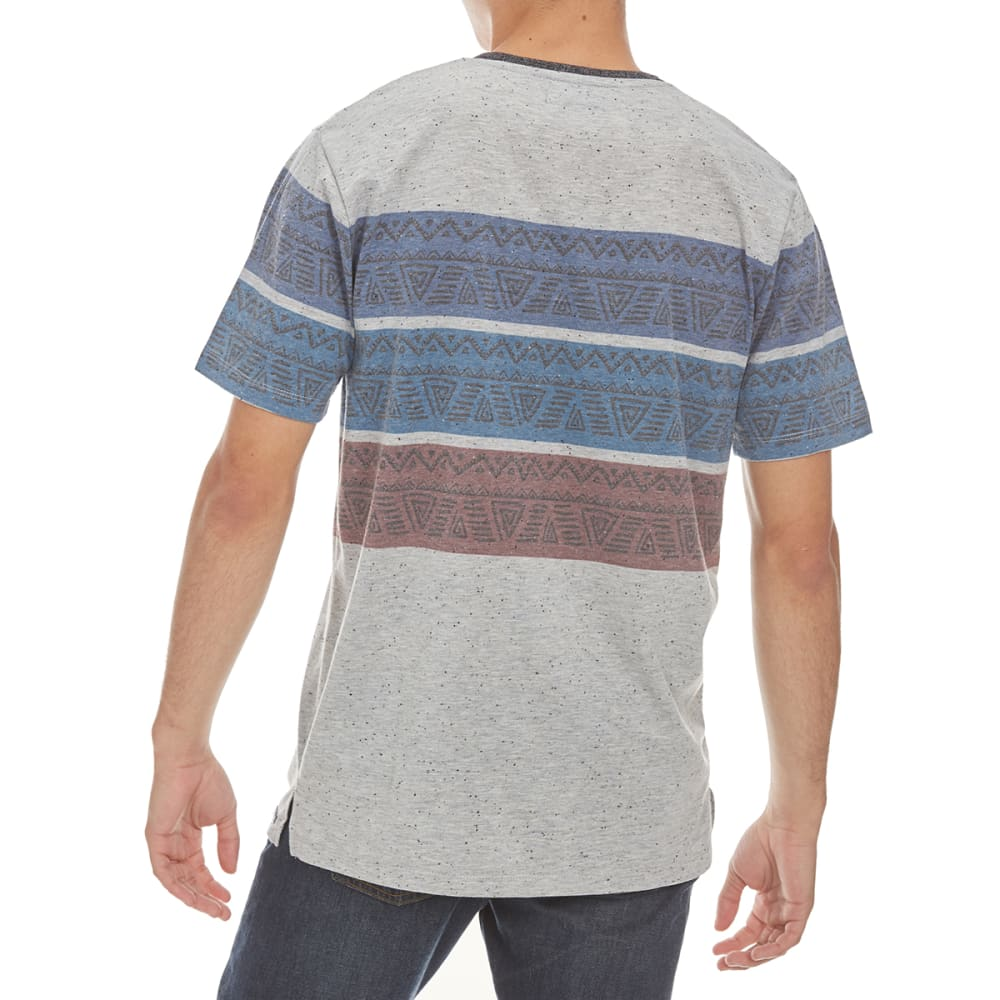 OCEAN CURRENT Guys' Diego Tee - GREY HEATHER