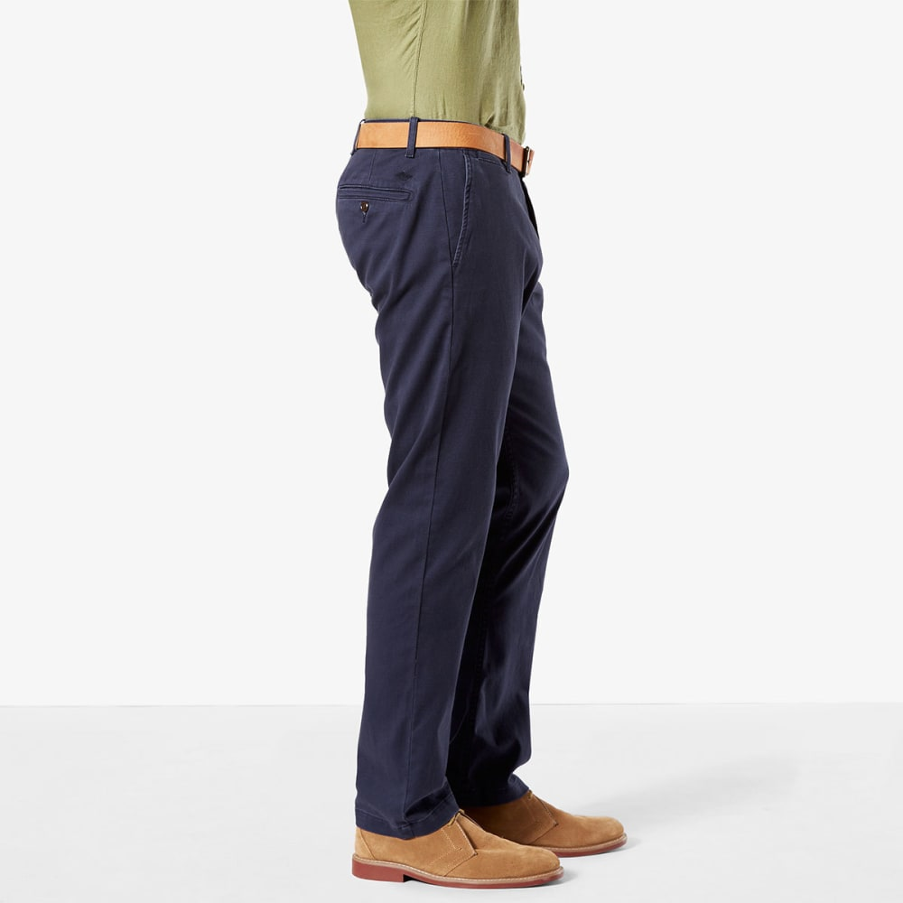 DOCKERS Men's Washed Khaki Slim Fit Tapered Pants - PEMBROKE 0003