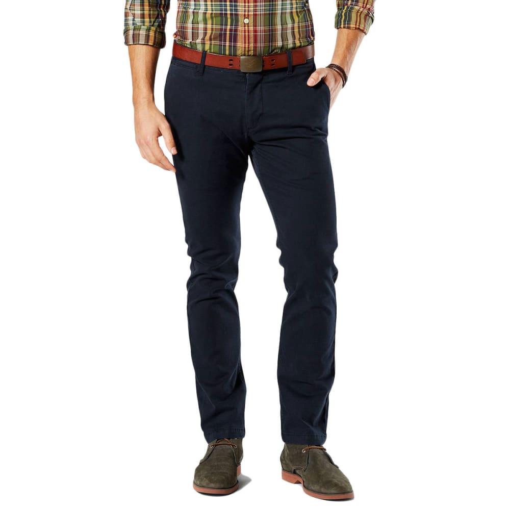 DOCKERS Men's Slim Tapered Fit Washed Khaki Pants - PEMBROKE 0003