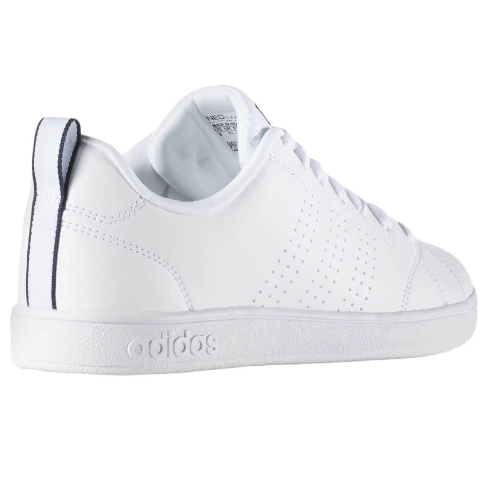 ADIDAS Women's Advantage Clean VS Shoes - WHITE/NAVY