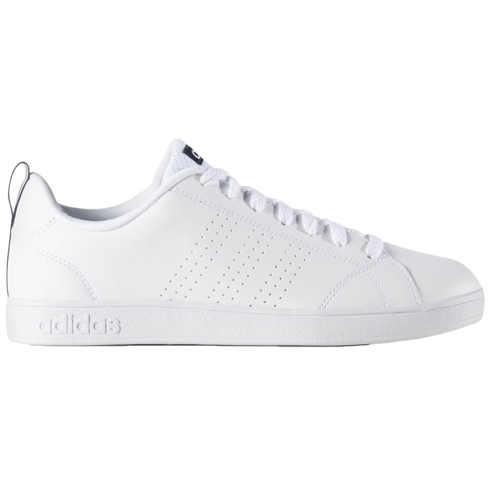 ADIDAS Women's Advantage Clean VS Shoes - WHITE/NAVY