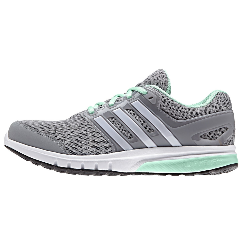 ADIDAS Women's Galaxy Elite W Running Shoes - MID GREY/WHT/FROGRN