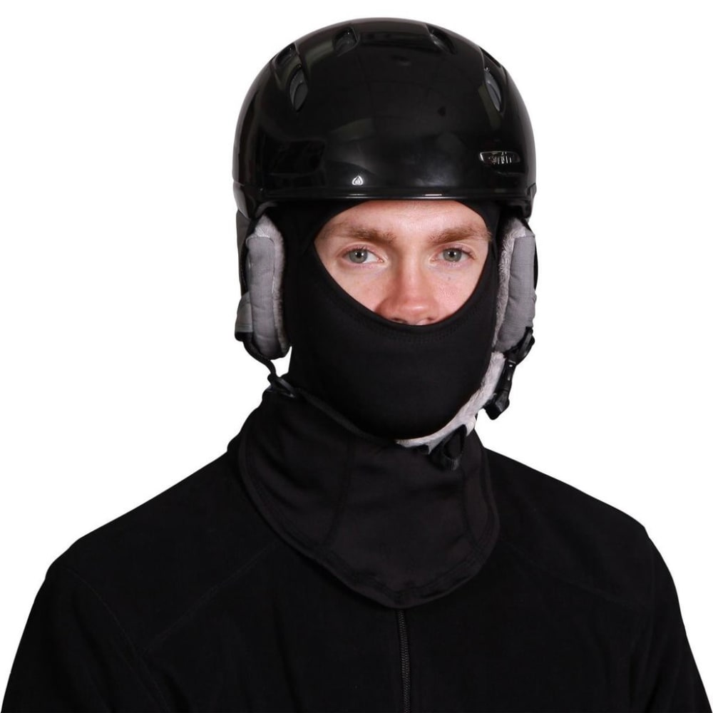TURTLE FUR Unisex Comfort Shell Performance Balaclava - BLACK