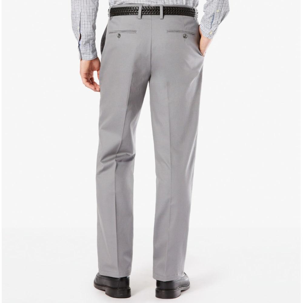 DOCKERS Men's Signature Stretch Khaki, Classic Fit Pants - BURMA GRY 0007