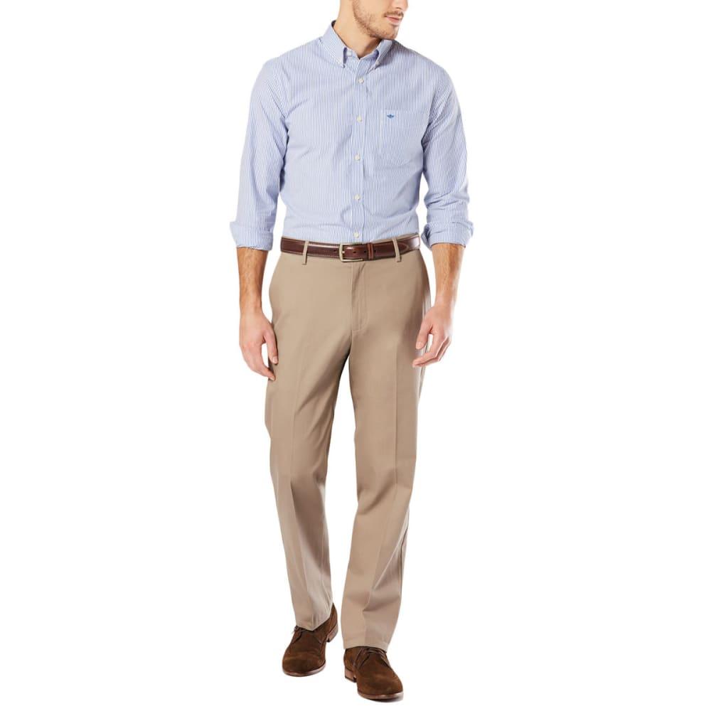 DOCKERS Men's Signature Stretch Khaki, Classic Fit Pants - Discontinued Style 30/32