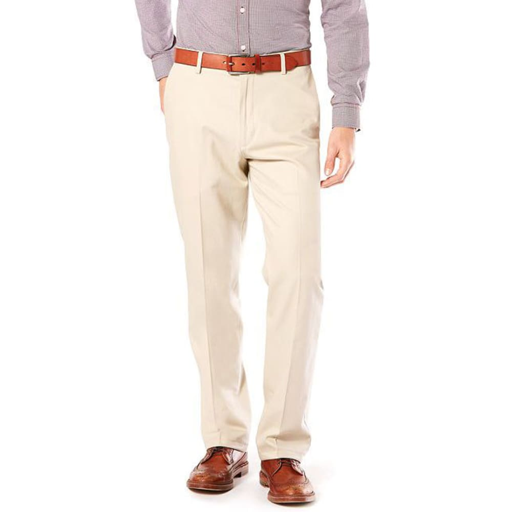 DOCKERS Men's Signature Stretch Khaki, Classic Fit Pants - CLOUD 0004