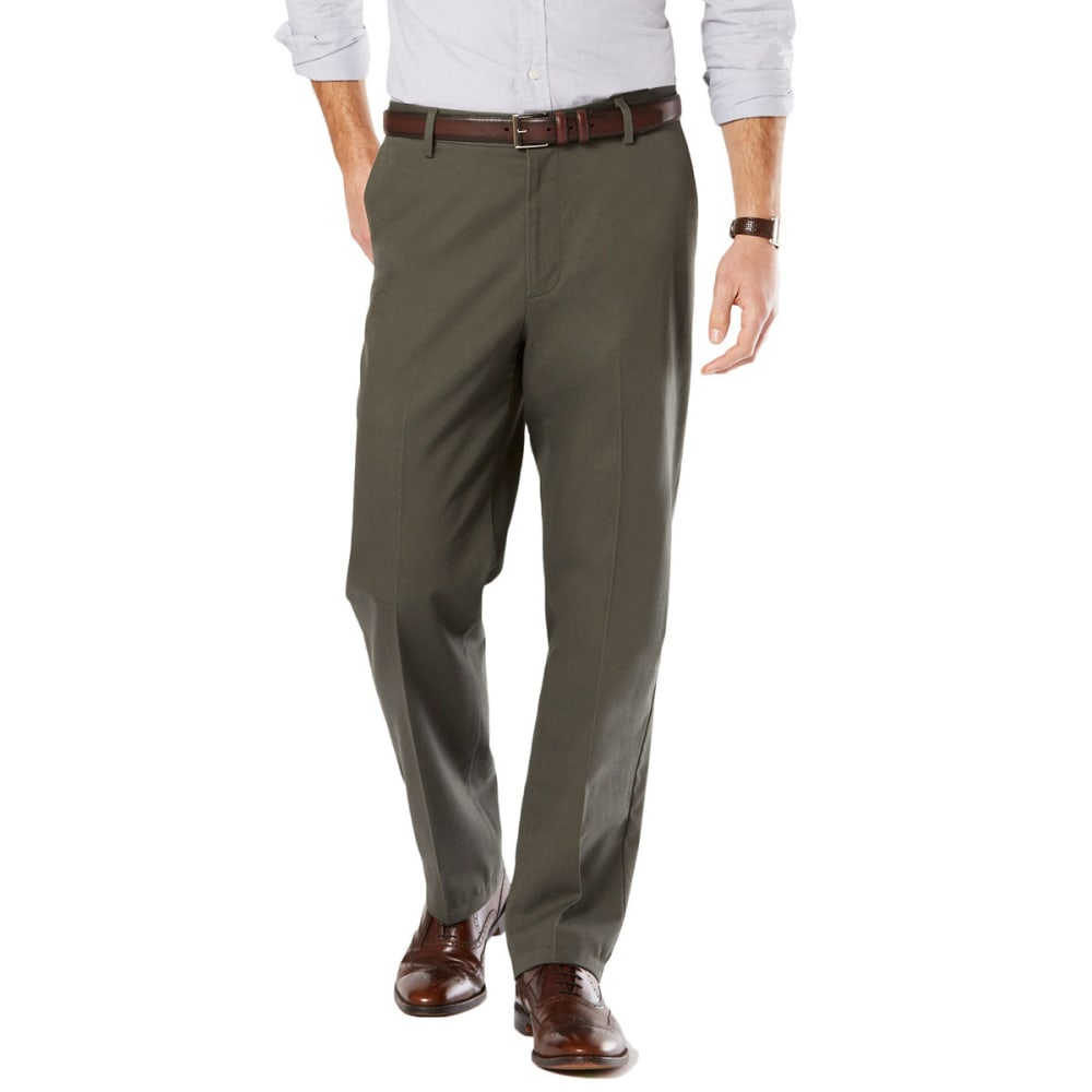 DOCKERS Men's Signature Stretch Khaki, Classic Fit Pants 30/30