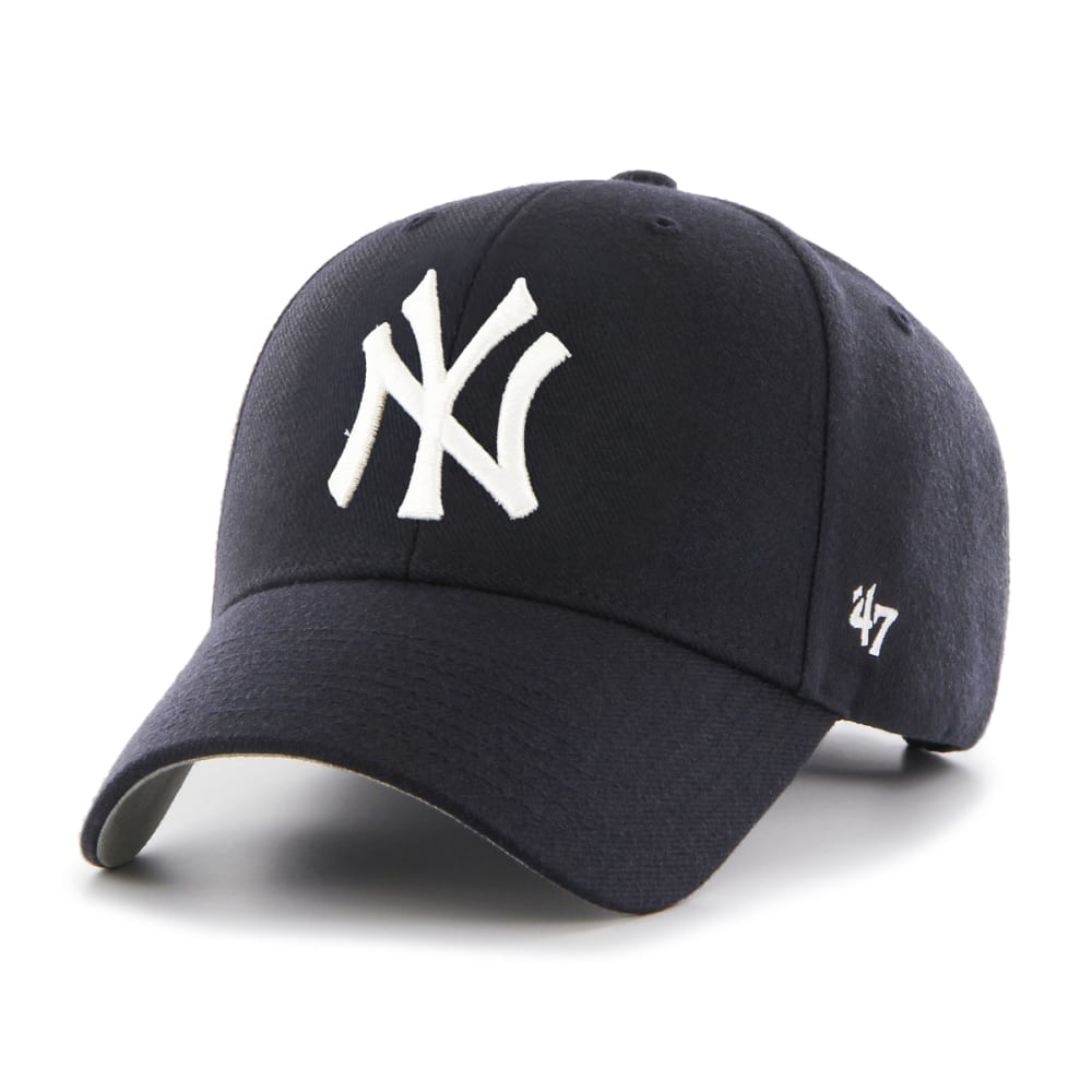 NEW YORK YANKEES Men's MVP Adjustable Cap - NAVY