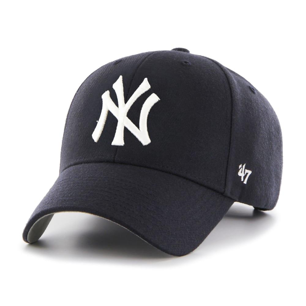 NEW YORK YANKEES Men's '47 MVP Adjustable Cap - NAVY