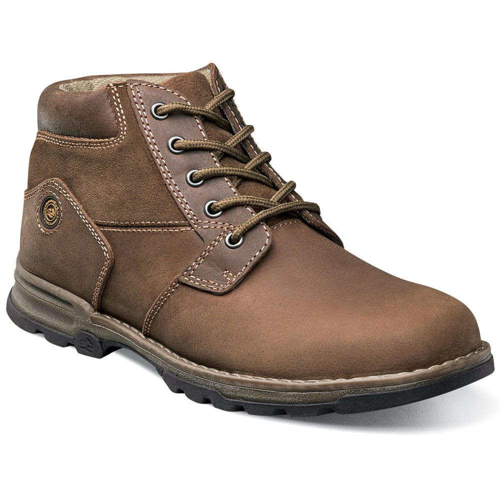 NUNN BUSH Men's Park Falls Plain Toe Boots - CAMEL