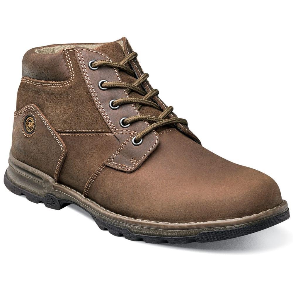 NUNN BUSH Men's Park Falls Plain Toe Boots - CAMEL