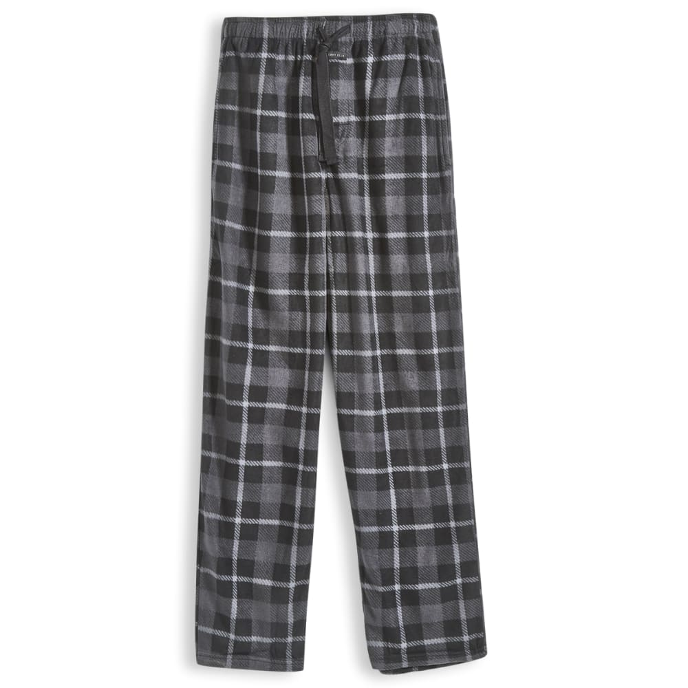 PERRY ELLIS Men's Microfleece Sleep Pants - BLACK 962