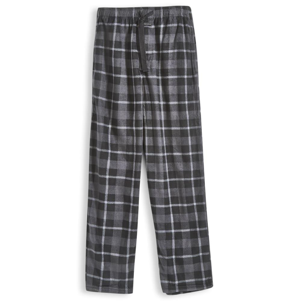 PERRY ELLIS Men's Microfleece Sleep Pants - BLACK 962