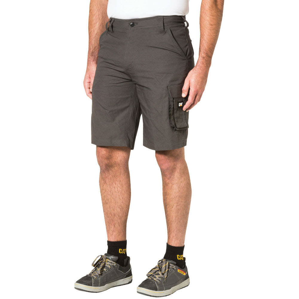CATERPILLAR Men's DL Ripstop Shorts - Black, 32