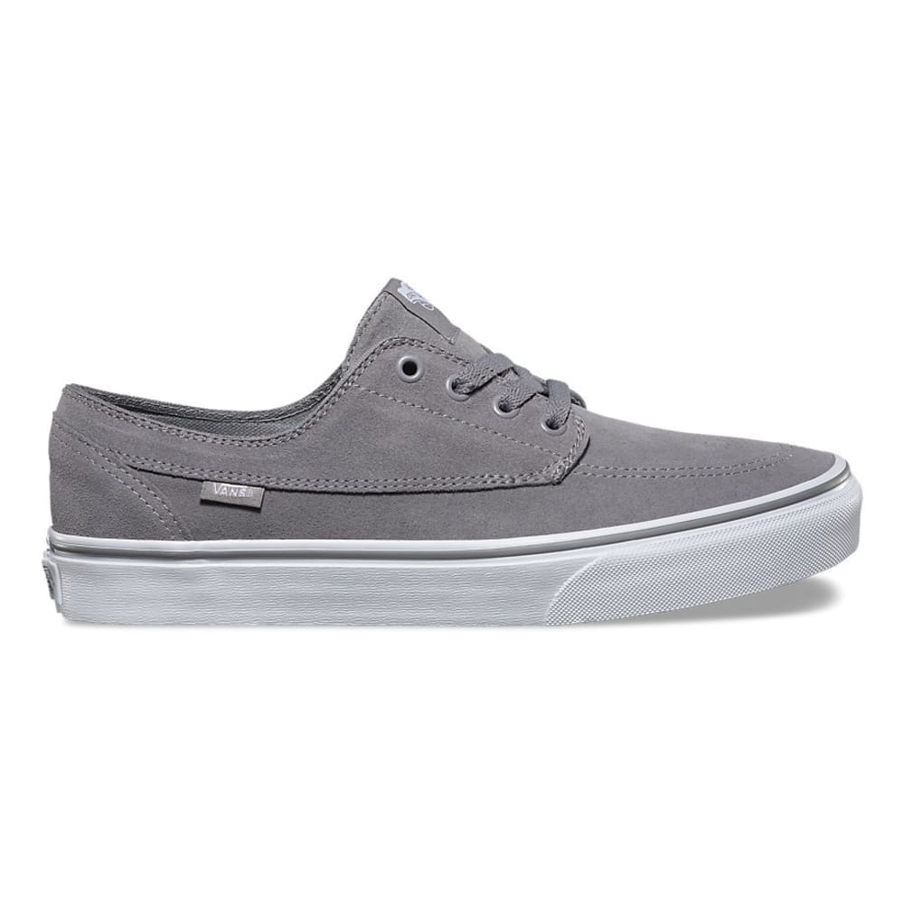 VANS Men's Brigata Suede Shoes - GREY