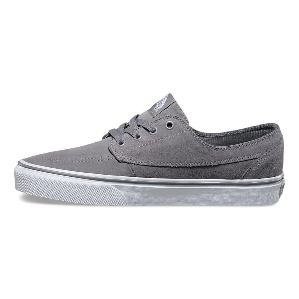 VANS Men's Brigata Suede Shoes - GREY