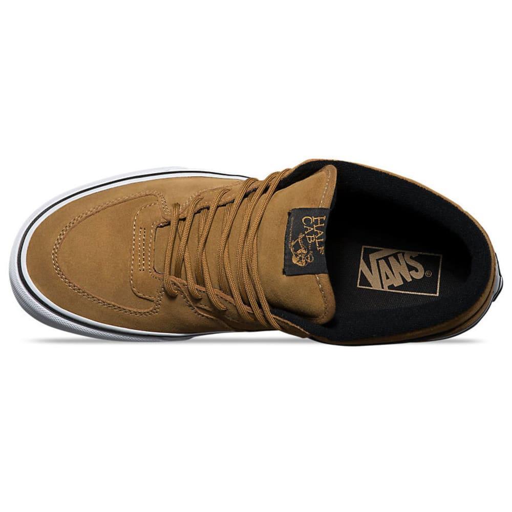 VANS Men's Half Cab Military Shoes - MED BROWN
