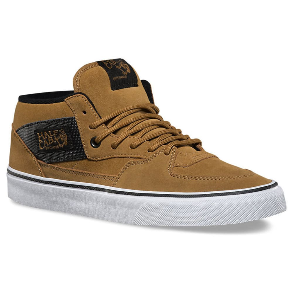 VANS Men's Half Cab Military Shoes - MED BROWN