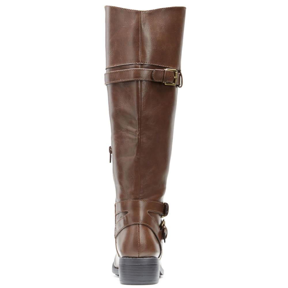 RAMPAGE Women's Britney Riding Boots - BROWN