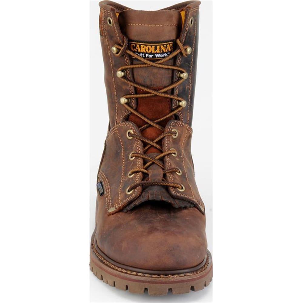 "CAROLINA Men's CA8028 Extra Wide 8"" Waterproof Work Boots, Kharthoum Cigar - BROWN"
