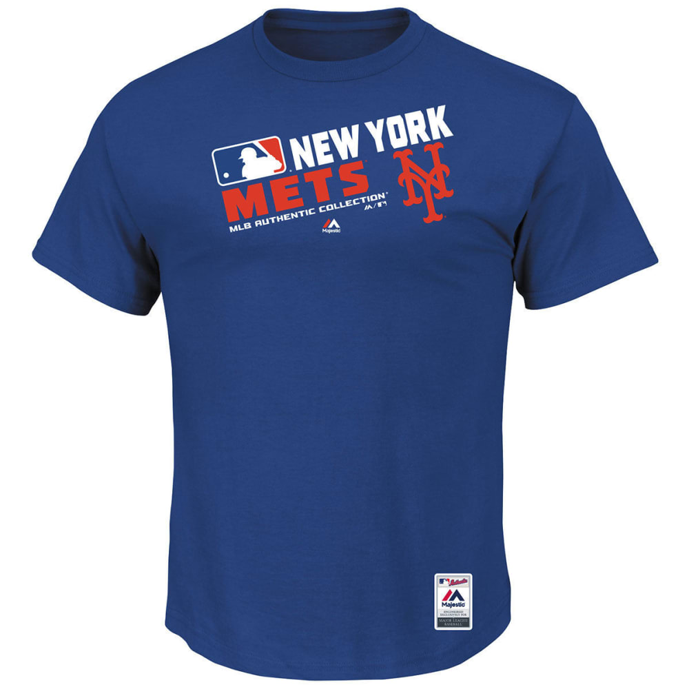 NEW YORK METS Men's Authentic Collection Team Choice Tee - ROYAL BLUE