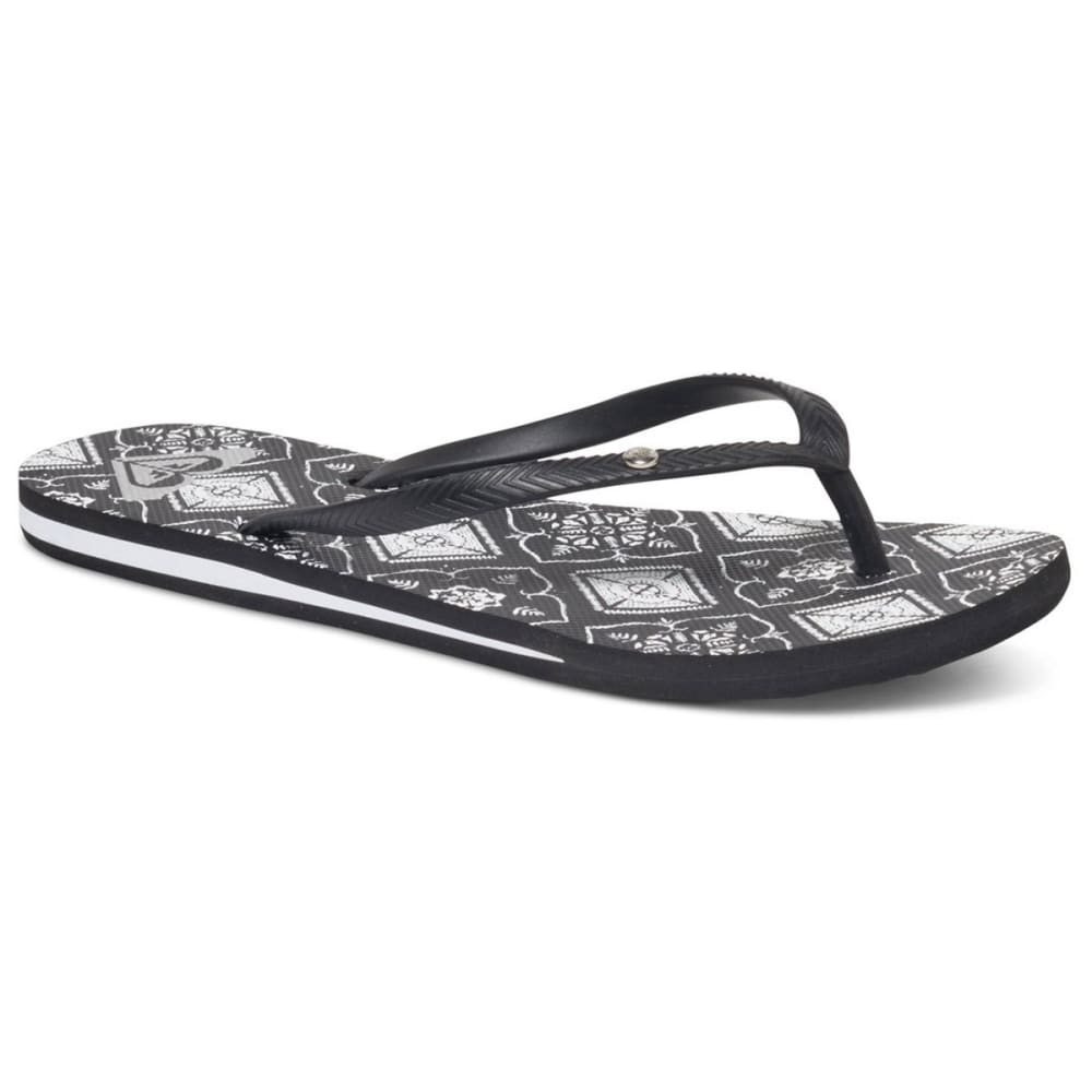 ROXY Women's Bermuda Sandals - BLACK