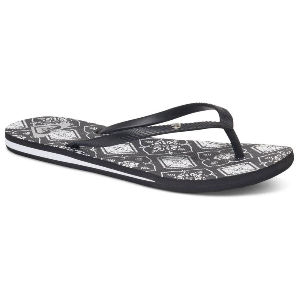 ROXY Women's Bermuda Sandals - BLACK