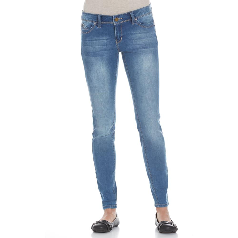YMI Juniors' Wanna Betta Butt Five-Pocket Skinny Jeans - MEDIUM M02