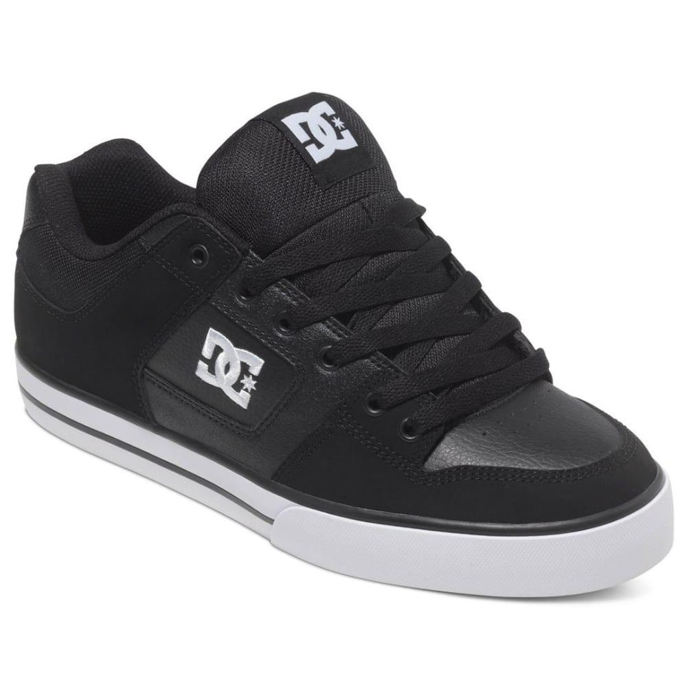 DC SHOES Men's Pure Shoes - Black, 8