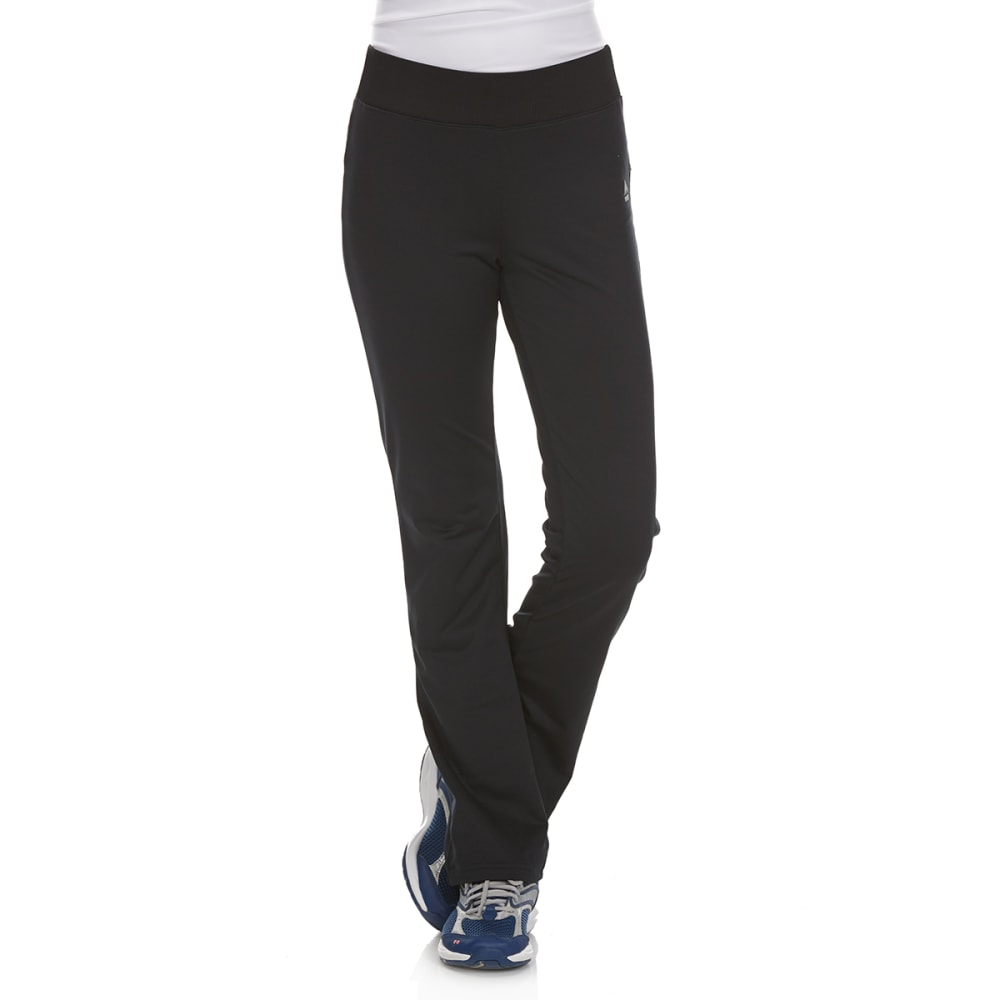 RBX Girls' Cotton/Spandex Yoga Pants - BLACK